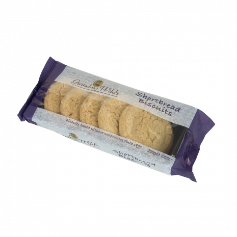GW Shortbread biscuits