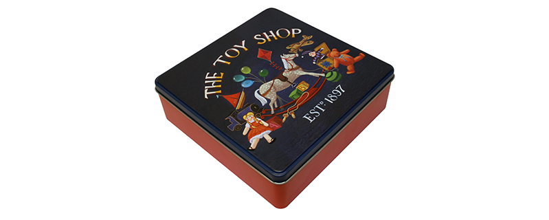 GW Toy shop tin