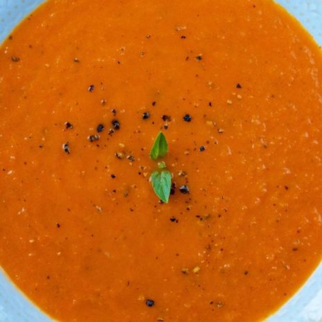 pepper and tomato soup