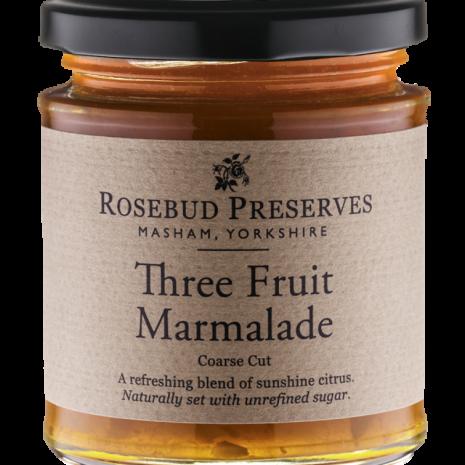 rosebud 3 fruit marmalade