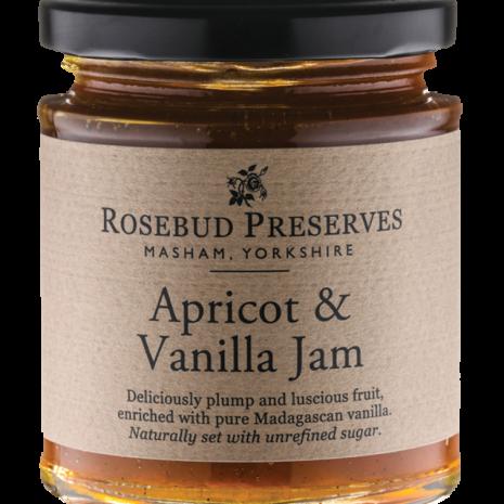 rosebud apricot and vanilla jam