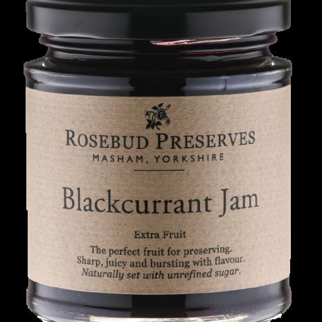 rosebud blackcurrant jam