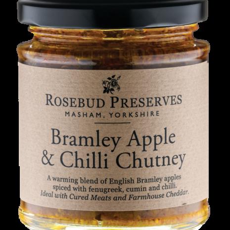 rosebud bramley apple and chilli chutney