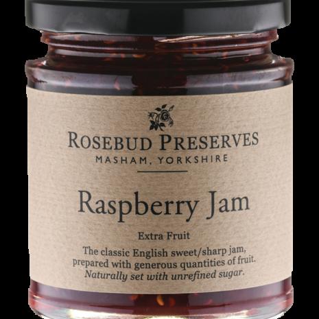 rosebud raspberry jam