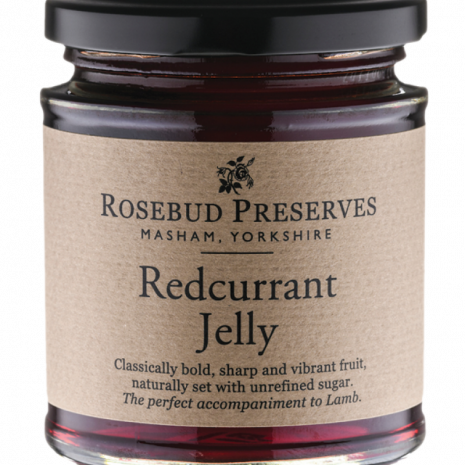 rosebud redcurrant jelly
