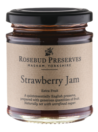 rosebud strawberry jam