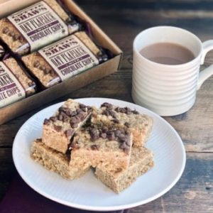 Lottie Shaw's Individual Chocolate Chip Flapjack