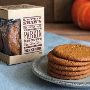 Lottie Shaw's Yorkshire Parkin Biscuit Box