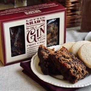 Lottie Shaw's Yorkshire Sloe Gin Fruit Cake