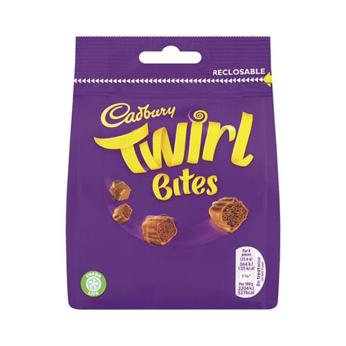 Cadbury's Twirl Bites Bag